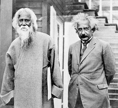 + Tagore Einstein 1