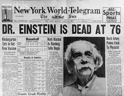 Einstein dead at 76 wikipedia