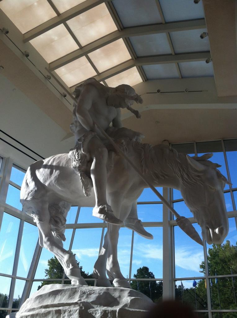 man horse museum