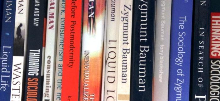 Bookshelf bauman books