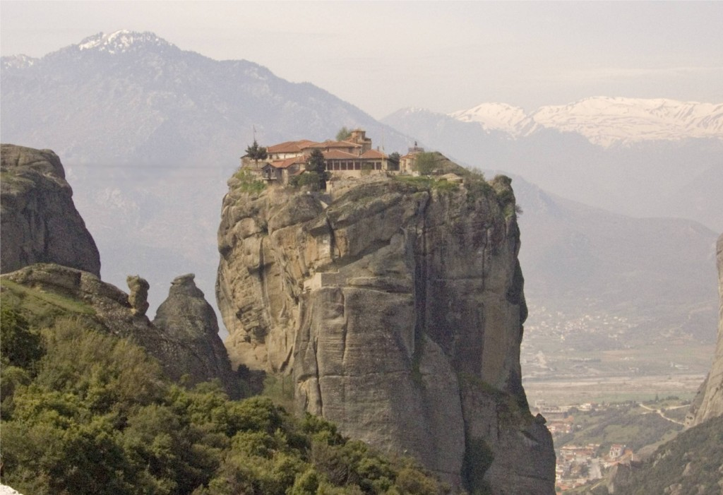 Monastery on top of a hill
