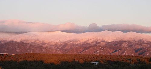 Sangre_de_Christo_Mountains-Winter_sunset