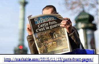Le Parisien man reading 2