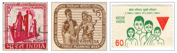 Stamps on fp