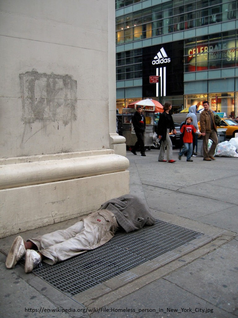 homeless on th street what would jesus do the essay acirc the homeless person and well off in ny