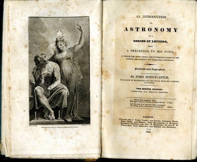 a bonnycastle astronomy title page