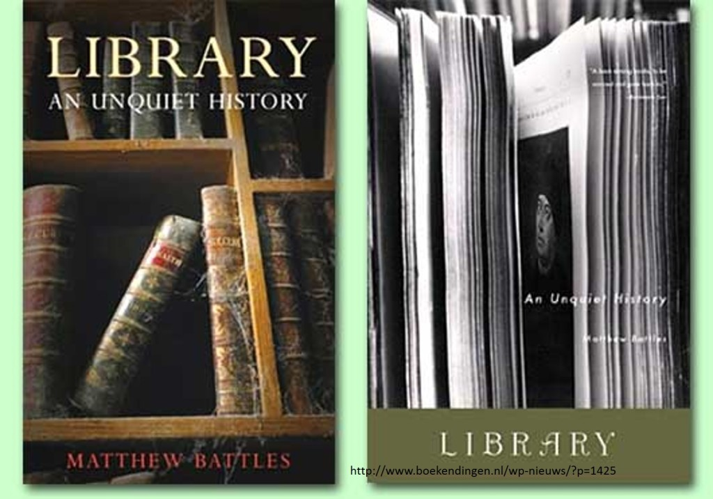 library an unquiet history